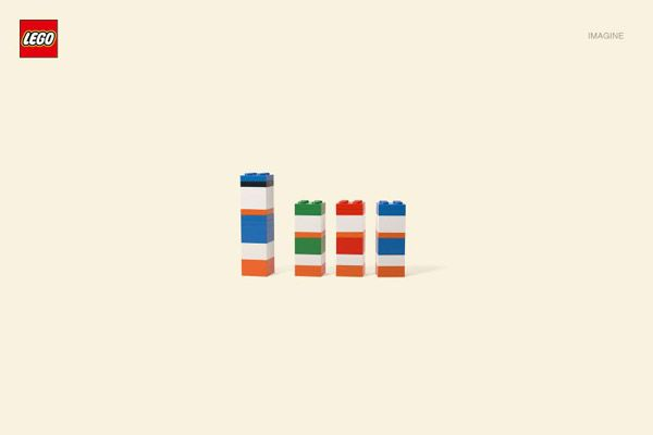 Jung vom Matt, an advertising agency from Germany, turned a known idea into a Lego Campagne.