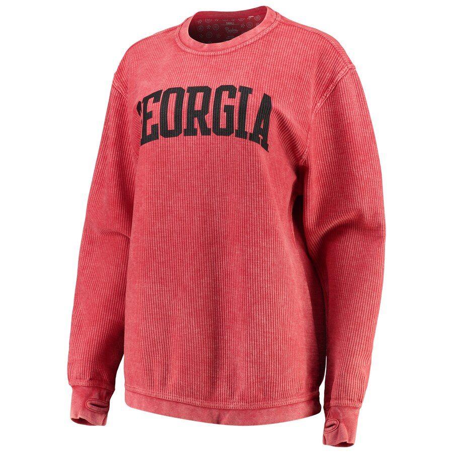 Women S Pressbox Black Georgia Bulldogs Comfy Cord Vintage Wash Basic Arch Pullover Sweatshirt Sweatshirts Pullover Sweatshirt Sweatshirts Women [ 900 x 900 Pixel ]