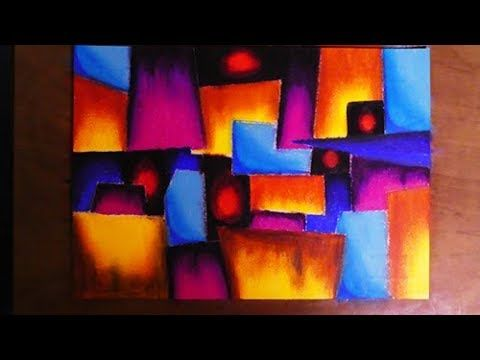 Very Easy Cubism Abstract Painting   Contemporary Art Style. Very Easy Cubism Abstract Painting   Contemporary Art Style   6