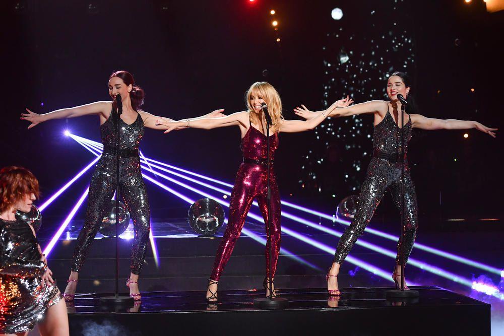 La prestation de Kylie Minogue dans l'émission Danse avec les stars hier (vidéo). - LeBlogTvNews