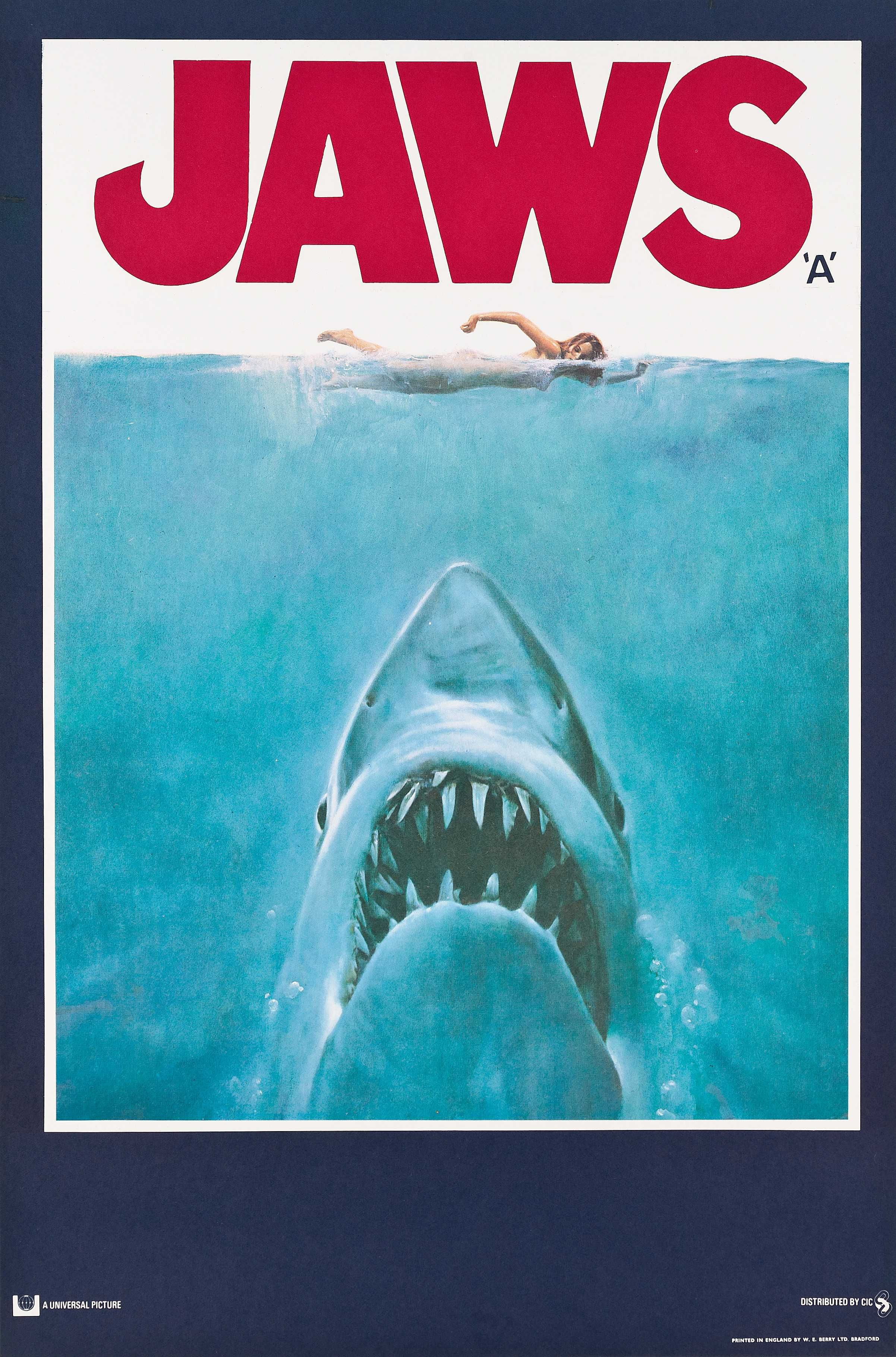 Jaws Classic Movie Posters Film Posters Vintage Jaws Movie Poster