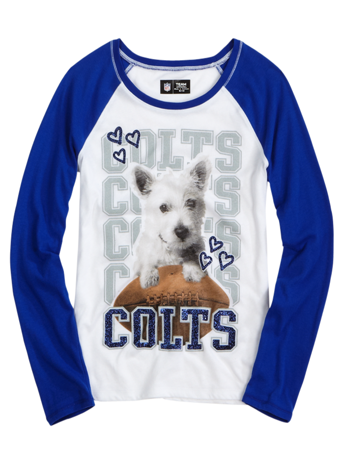 5befd53e3 Indianapolis Colts Puppy Baseball Tee