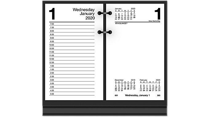 Recycled Daily Desk Calendar Refill E717r At A Desk Calendars Diy Calendar Calendar
