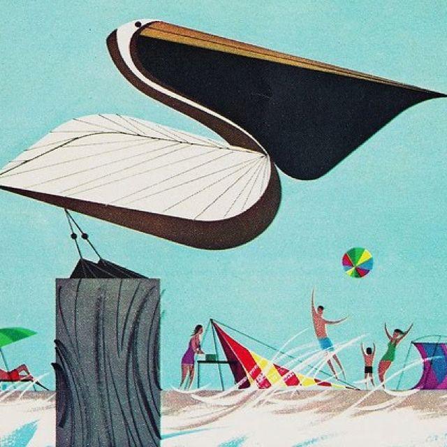 Charley Harper . Atlantic coast   dibujos harper   Pinterest ...