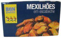 Bon Appetit Mexilhoes Mussels in Escabeche Sauce 115 Gram Tin