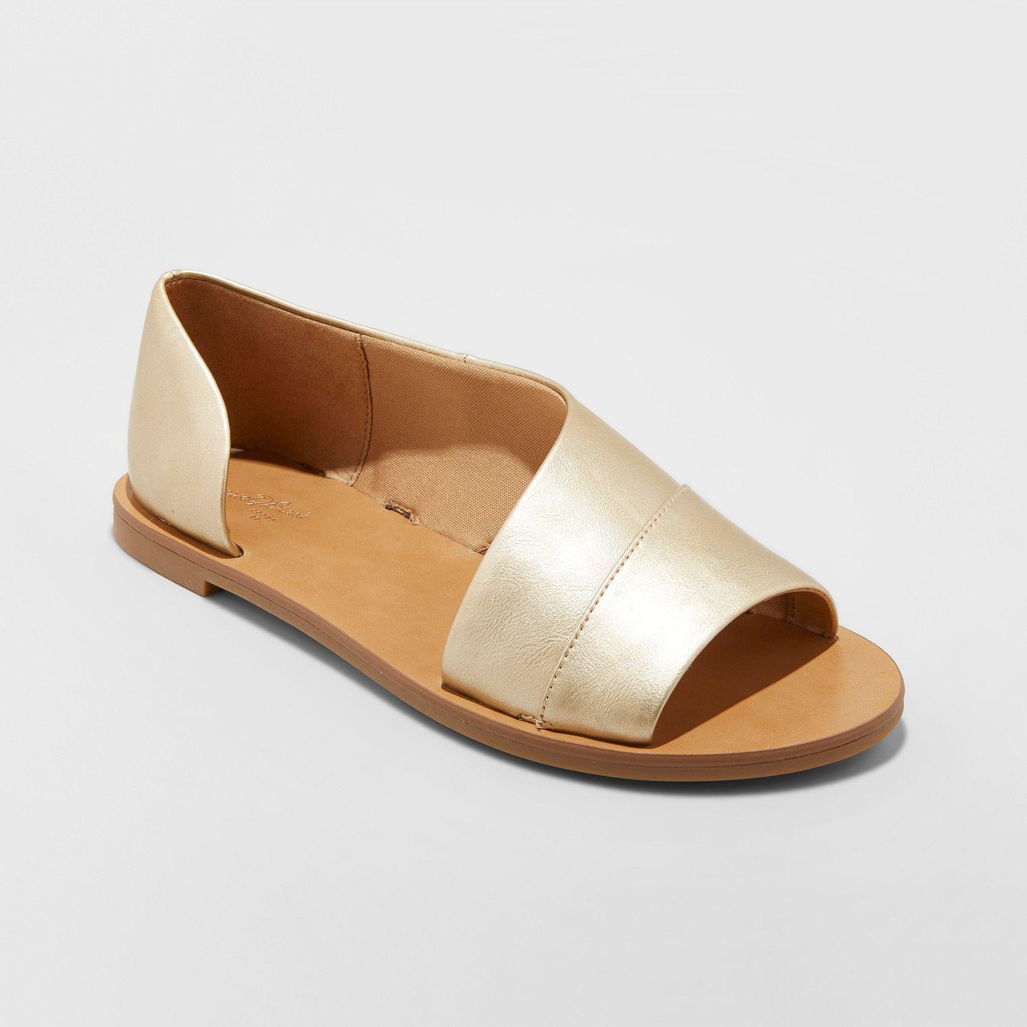 Women's Lissa Wide Width Asymmetrical Slide Sandals