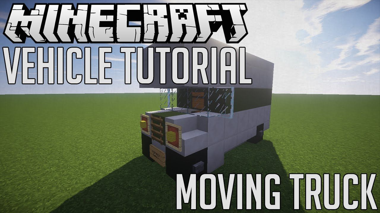 Minecraft how to make moving truck minecraft pinterest minecraft how to make moving truck baditri Images