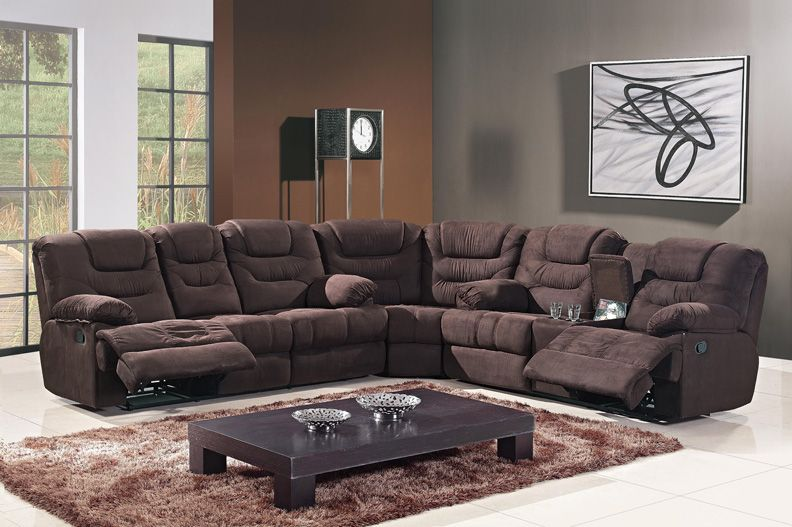 Cloth Sectionals With Recliners 3pc Modern Transitional Fabric Sectional Recliner Sofa Set Mh Sf4762 Sofa Set Modern Sofa Set Sectional Sofa With Recliner