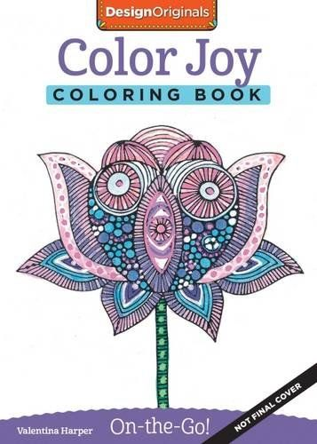 Color Joy Coloring Book On The Go Valentina Harper 9781497200319 Amazon Com Books Designs Coloring Books Coloring Books Ink Illustrations