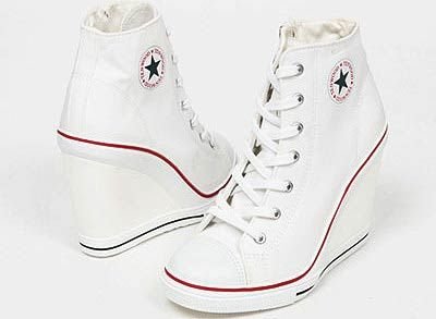 7ed8cb20dfc converse wedge heels white