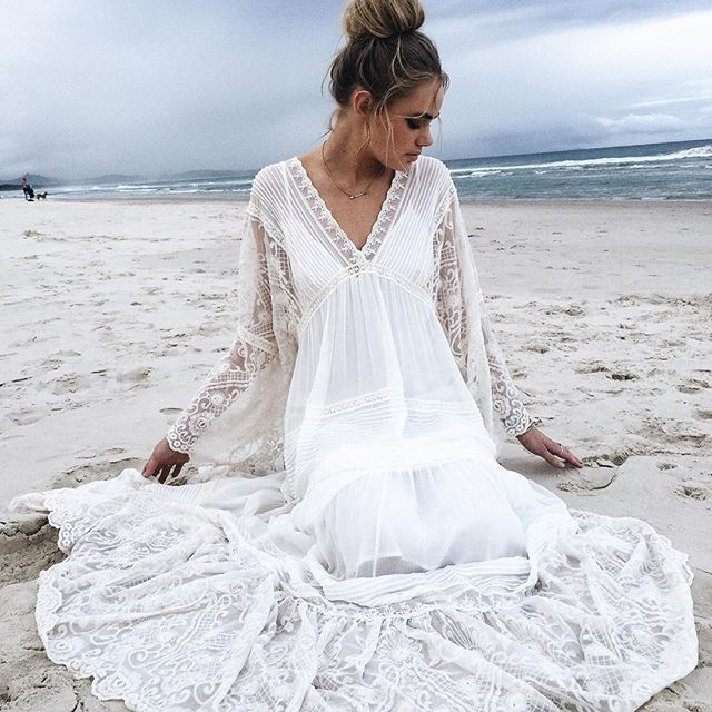 Our Magnolia Gown {with silk slip} is now live on #spellbride {link in bio} All our bridal gowns are limited edition labours of love ~ We ho