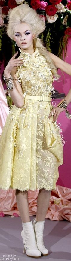 Christian Dior Couture Spring 2010