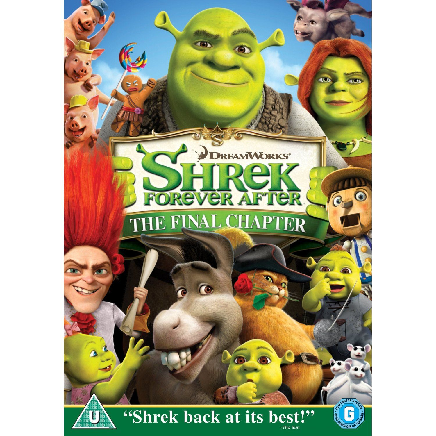 Shrek Forever After The Final Chapter (2010), directed by