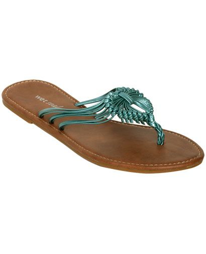 Macrame Flip Flop From Wetsealcom  Clothes For Women -1317