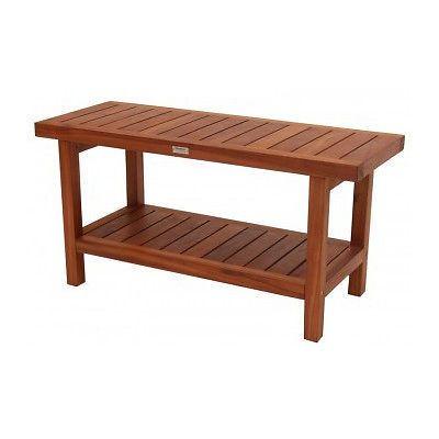 Hudson Furniture Benches New Bath Teak Spa Shower Bench With Shelf Hudson Furniture Bench Furniture Furniture