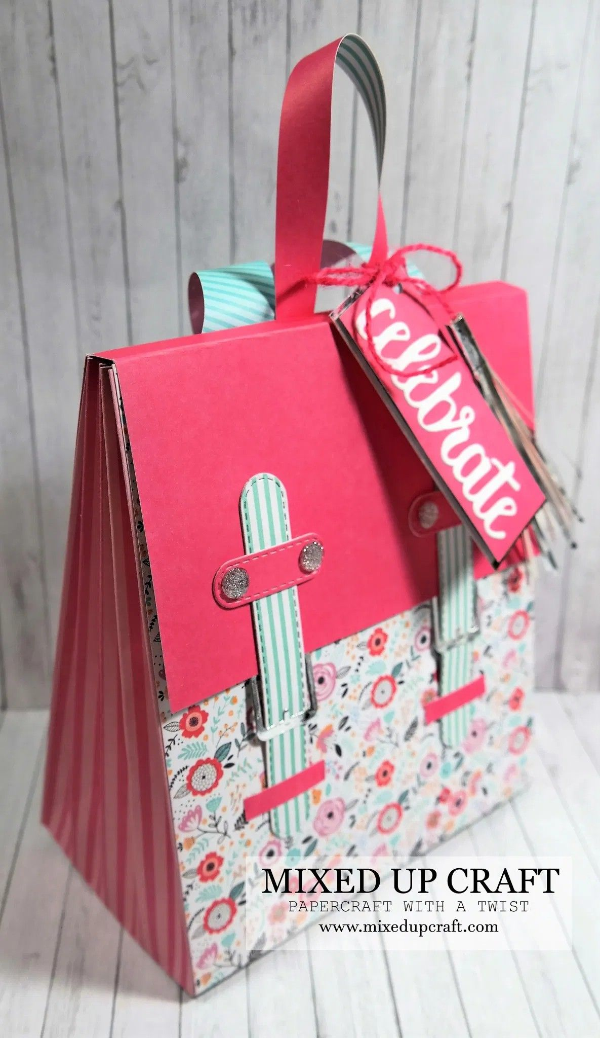 Pin By Mixed Up Craft On Craft Tutorials By Mixed Up Craft Up Craft Handbag Tutorial Gift Bag