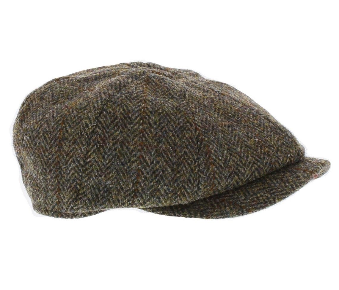c866d178c53 Failsworth Mens Harris Tweed  Carloway  Bakerboy Cap