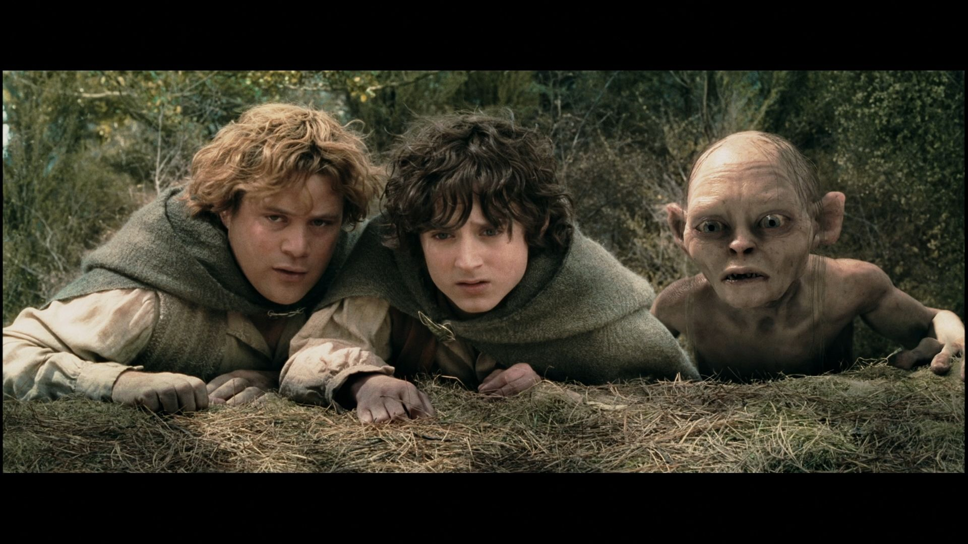 Sam, Frodo and Gollum in 2020 The two towers, Lord of