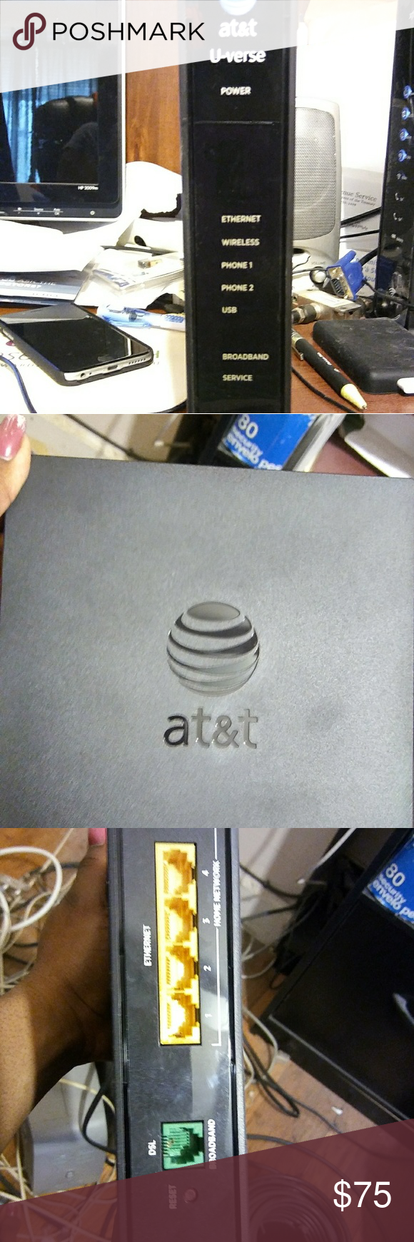 AT&T UVERSE WIRELESS ROUTER AT&T UVERSE ROUTER NEW IN BOX