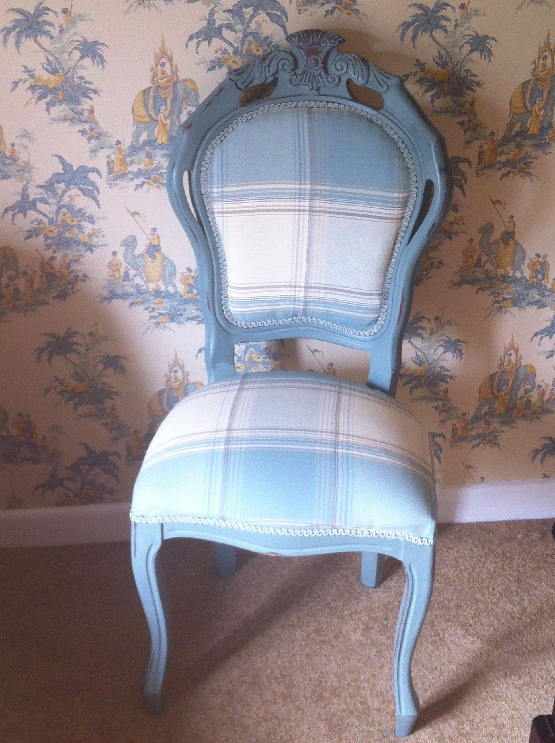 Shabby Chic Bedroom Chair Pretty Shabby Chic Bedroom Chair Painted In Annie Sloan Duck