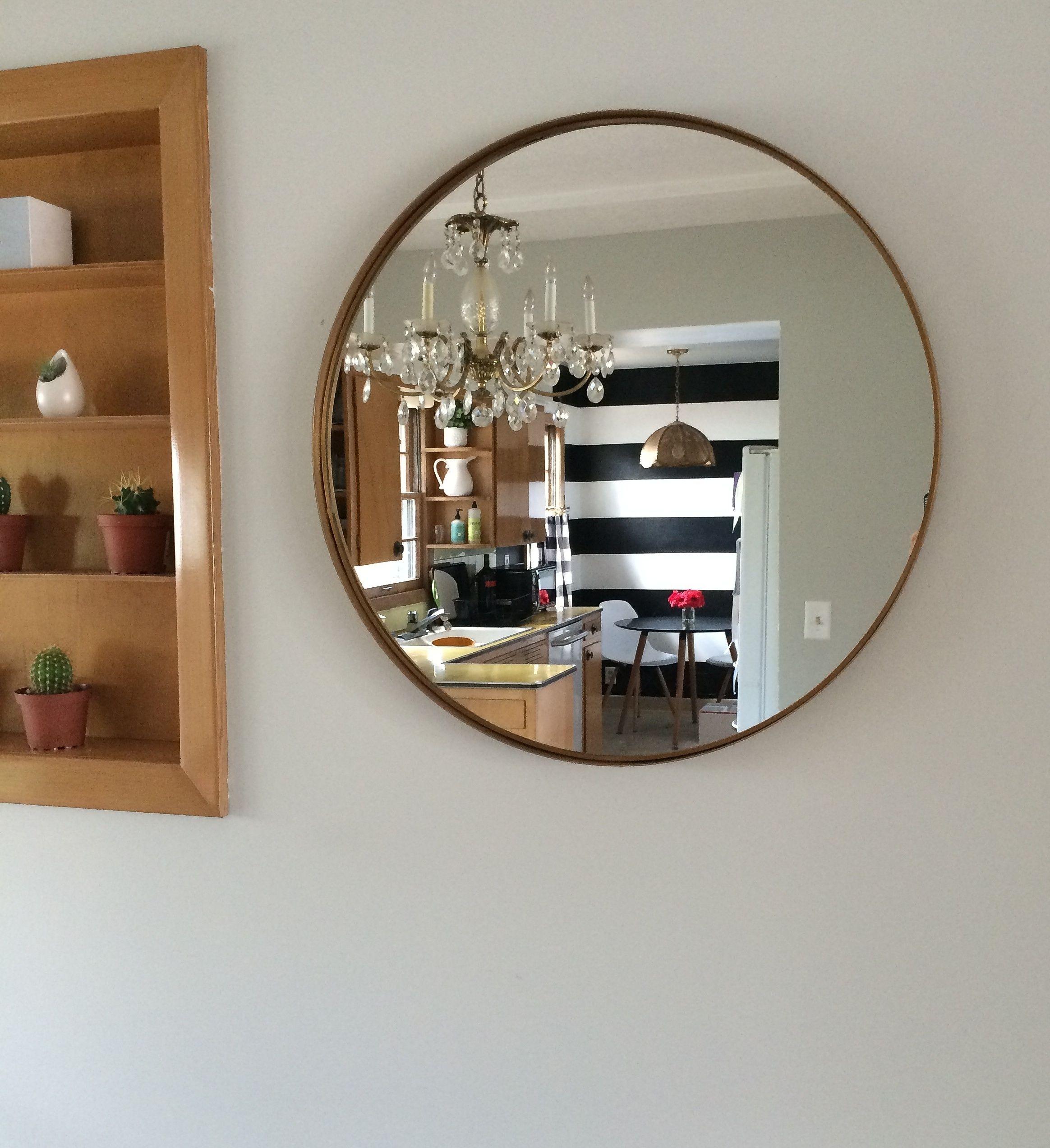 I Fancy That Ikea Mirror Makeover Bathroom Mirrors Diy Simple