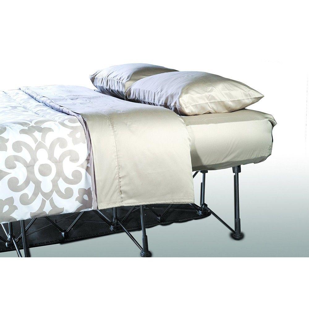 Ezbed air mattress frame auto shutoff self inflatable