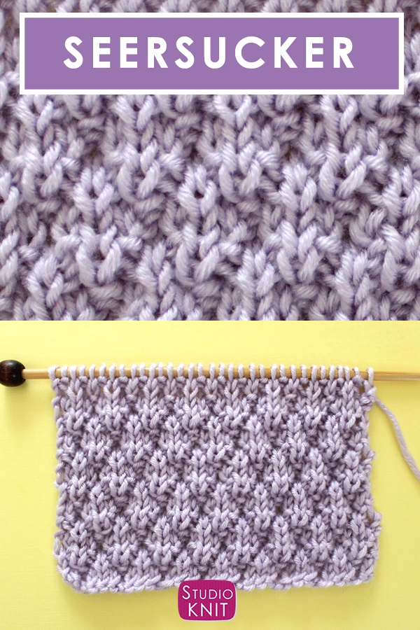 Seersucker Stitch (Knitting Pattern)