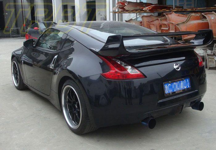 350z Vs3 Style Carbon Fiber Spoiler Fairlady Z33 Cf Big Wing Trunk Spoiler Case For Nissan 2003 2004 2005 2006 2007 2 Carbon Fiber Spoiler Carbon Fiber Nissan