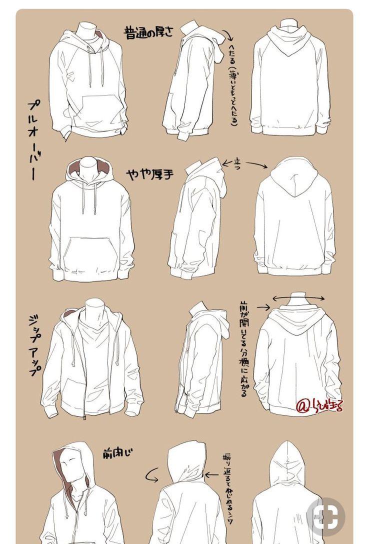 Möchte jemand Hilfe beim Zeichnen von Kleidern? - Projektowanie postaci - Alles über den Winter