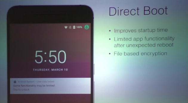Avec Direct Boot, Android N facilite la vie des smartphones chiffrés - http://po.st/RYHMOF  #Android