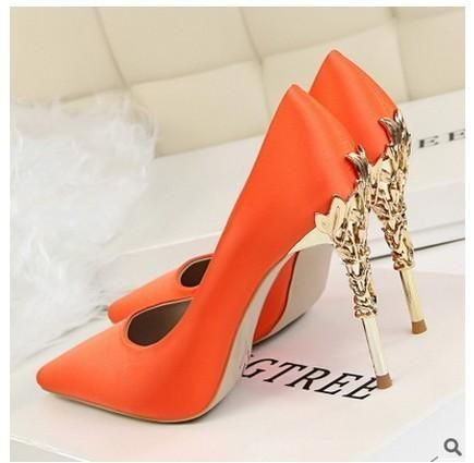 8fe01bfc3d Fashion Women's High Heels Shoes With Thin Metal Stilettos Fashion ...