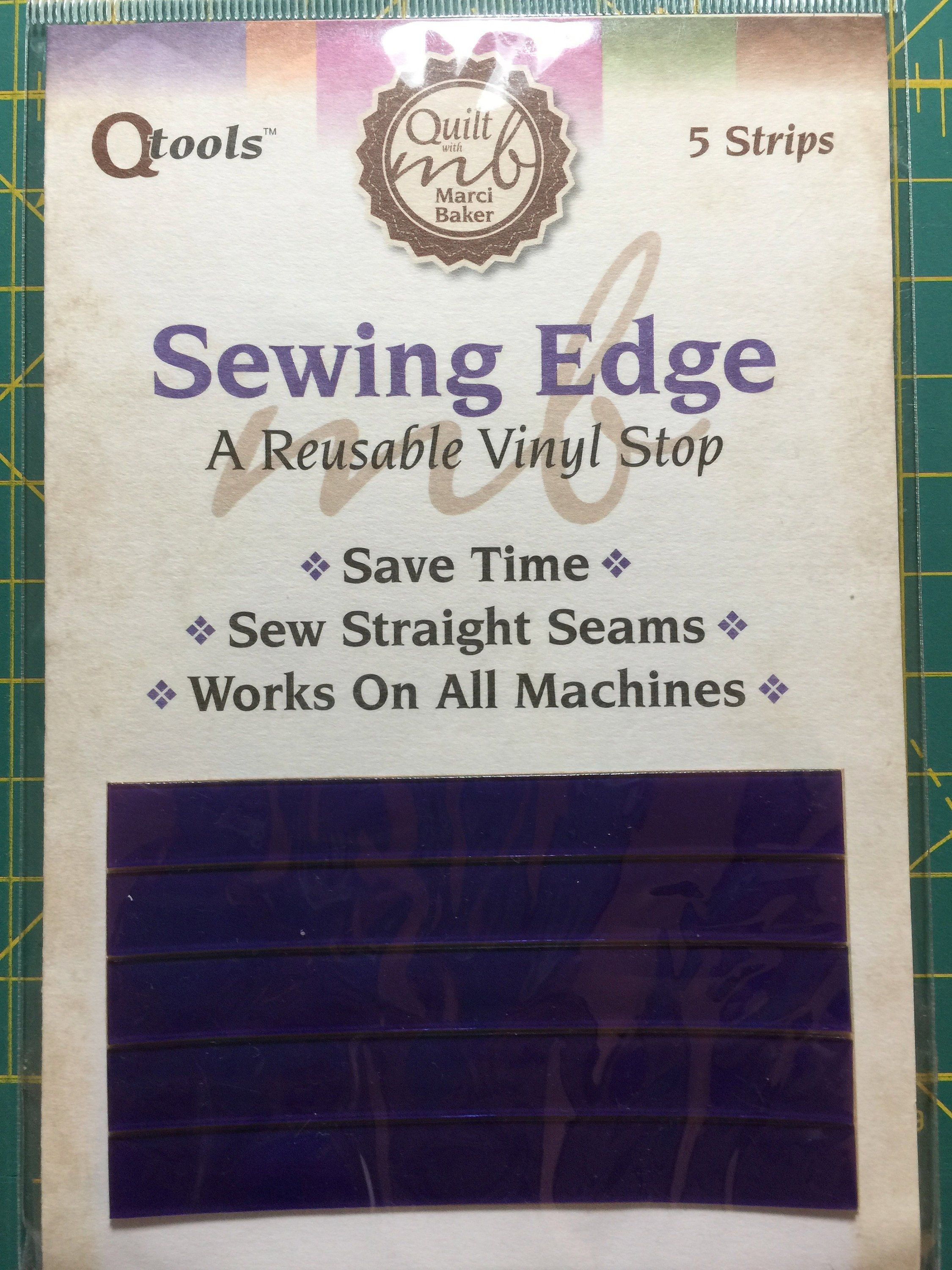 Sewing Edge Sewing Strips From Quilt With Marci Baker Sewing Guide Guide For Sewing Perfect Scant 1 4 Inch Quiltsy Destash Party By Lawso Sewing Quilts Sewing Hacks