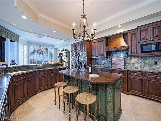 7575 Pelican Bay BLVD #PH1907, Naples, FL 34108 | Penthouse kitchen ...