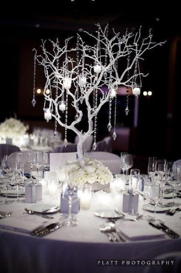 50 Silver Winter Wedding Ideas For Your Day Http Www Deerpearlflowers