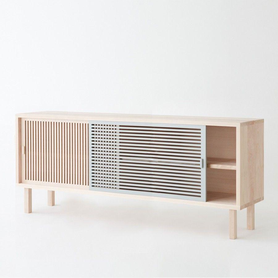 Buffet Kyoto Grand Modele Minimalist Furniture Design Furniture Contemporary Furniture