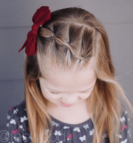 17 Simple And Adorable Toddler Girl Hairstyles For Medium To Long Hair Just Simply Mom In 2020 Girls Hairstyles Easy Cute Toddler Hairstyles Girl Hair Dos