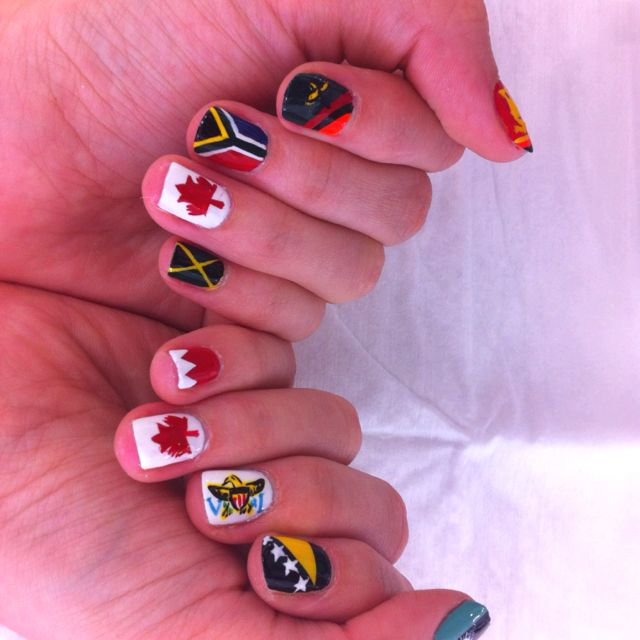 Sri lanka Zambia Patriotic Nails... Sri Lanka Zambia South africa ...