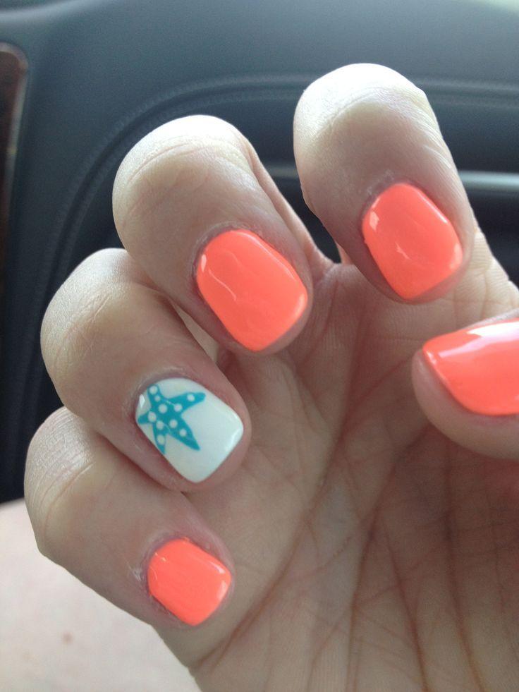 Beach Nails 4seasonsspa Cruise Nails Beach Nails Toe Nails