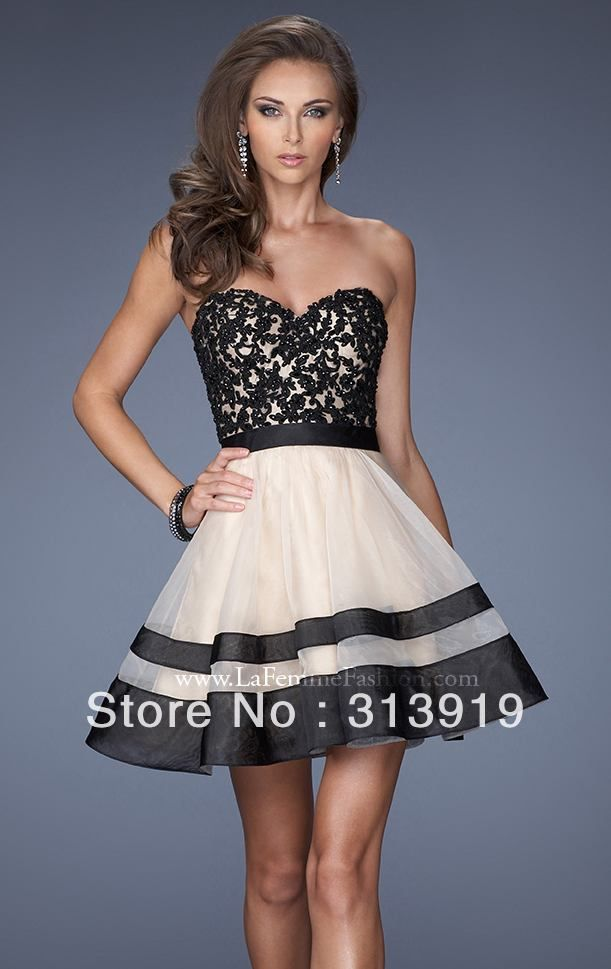 c84dd8b8da free shipping strapless sweetheart ball gown prom dresses short 2014 hot  sale US  118.00