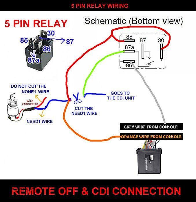 5 Pin Relay Wiring Diagram New 5 Pin Relay Diagram The Unit