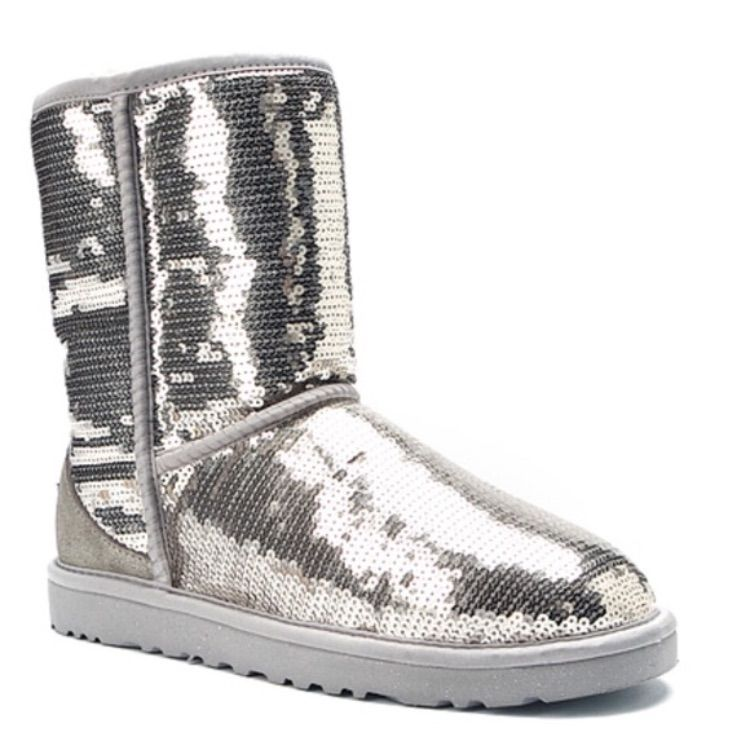 Sequin boots, Sparkle ugg boots, Ugg boots