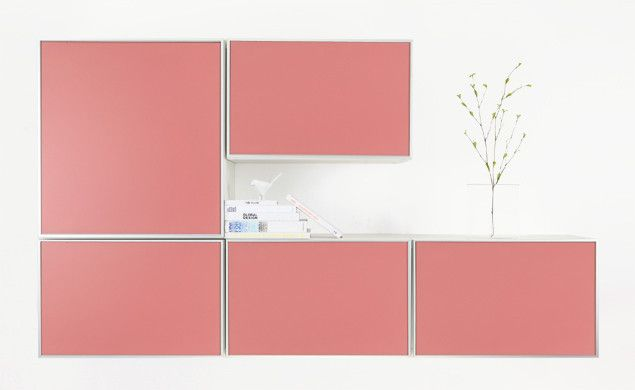 IKEA Besta with PANYL Bubble Gum finish. | Storage | Pinterest ...