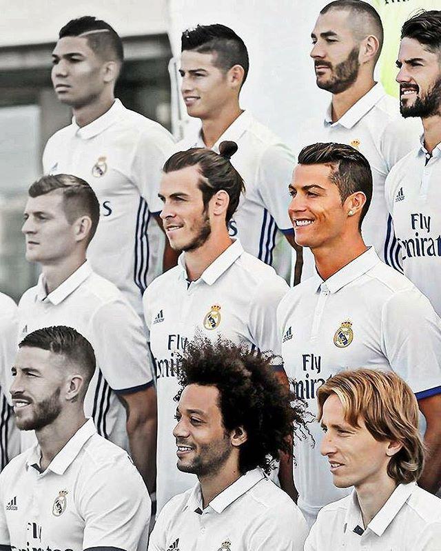 Squad Real Madrid Team Real Madrid Basketball Soccer Inspiration