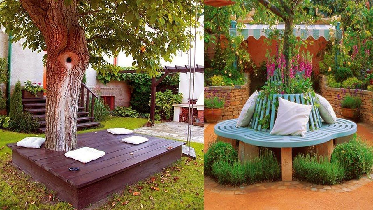 10 Garden Bench Decorating Ideas Most Of The Amazing And Interesting Outdoor Garden Furniture Diy Projects Small Furnishings Diy