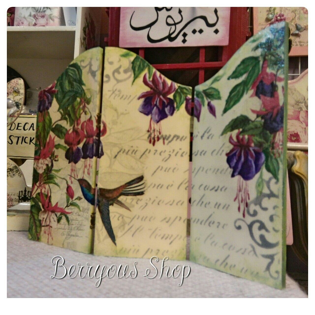 Berryous Shop ,decoupage