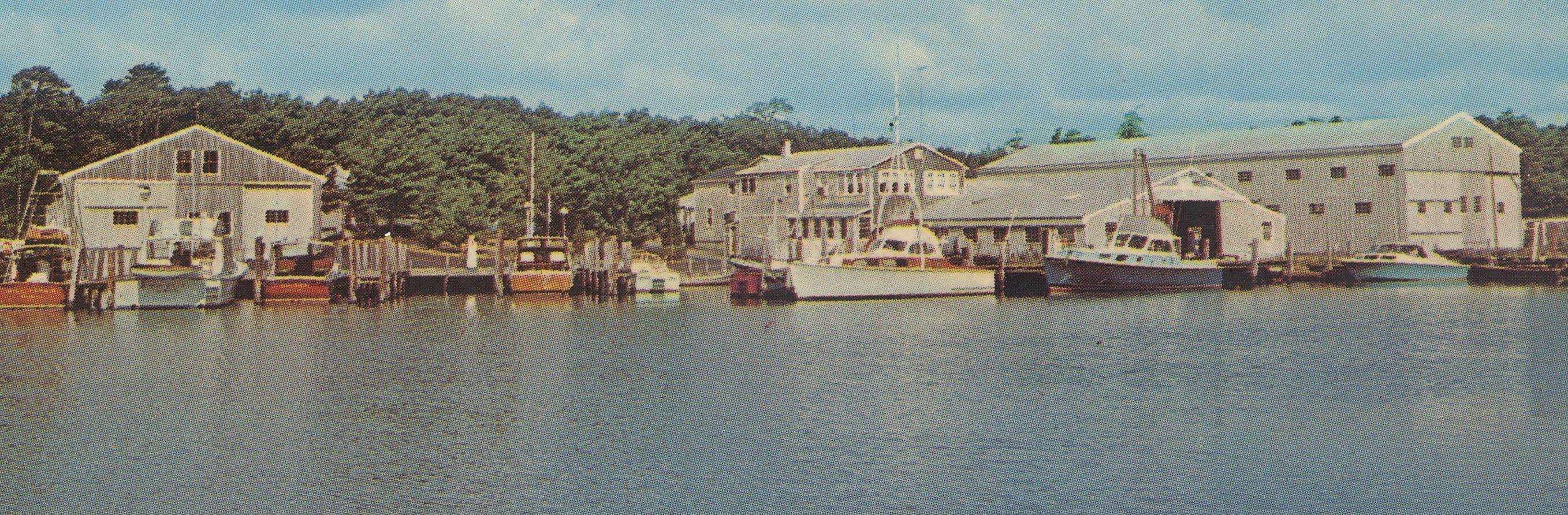 Edwards boat yard.