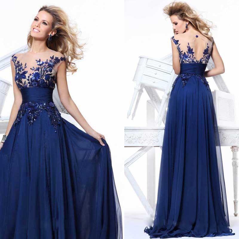 Lace Dresses Tarik Ediz Istanbul   On-Sale-Tarik-Ediz-Sheer-Neckline ...