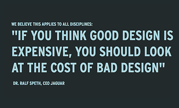 The Cost of Bad Design