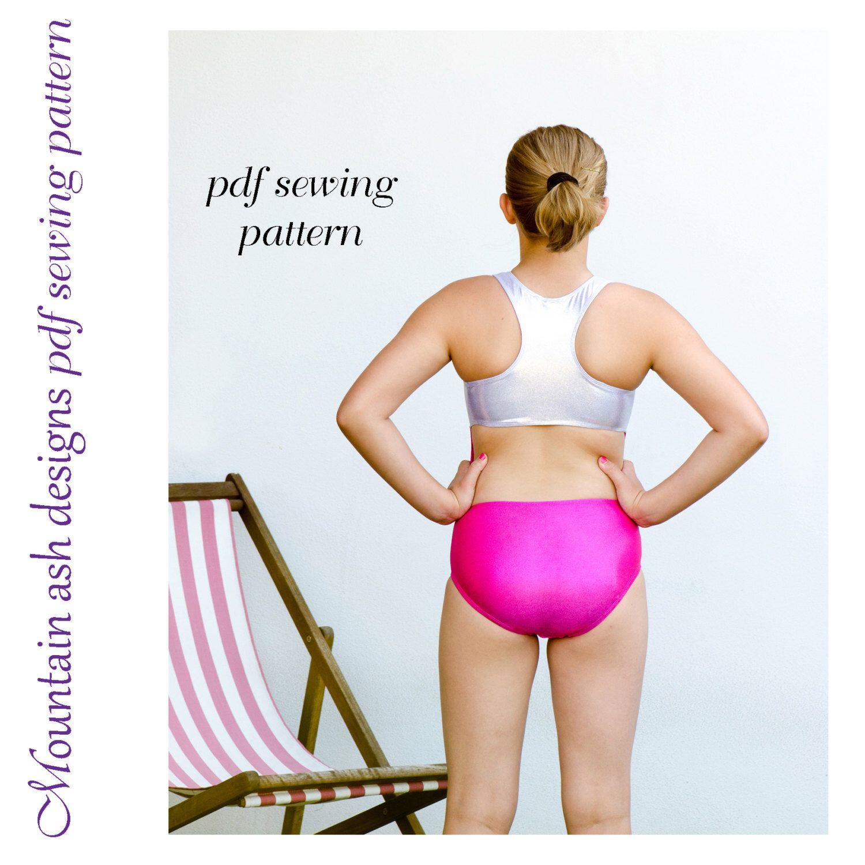 Hannah leotard pattern pdf sewing pattern in girls sizes 2-14 racer ...