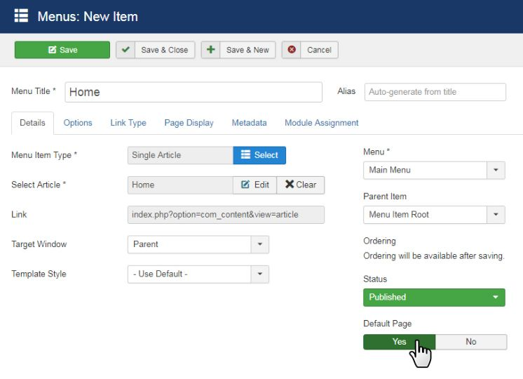 How To Install Joomla Template And Extension Nicepage Com Documentation Joomla Templates Joomla Web Design Tools